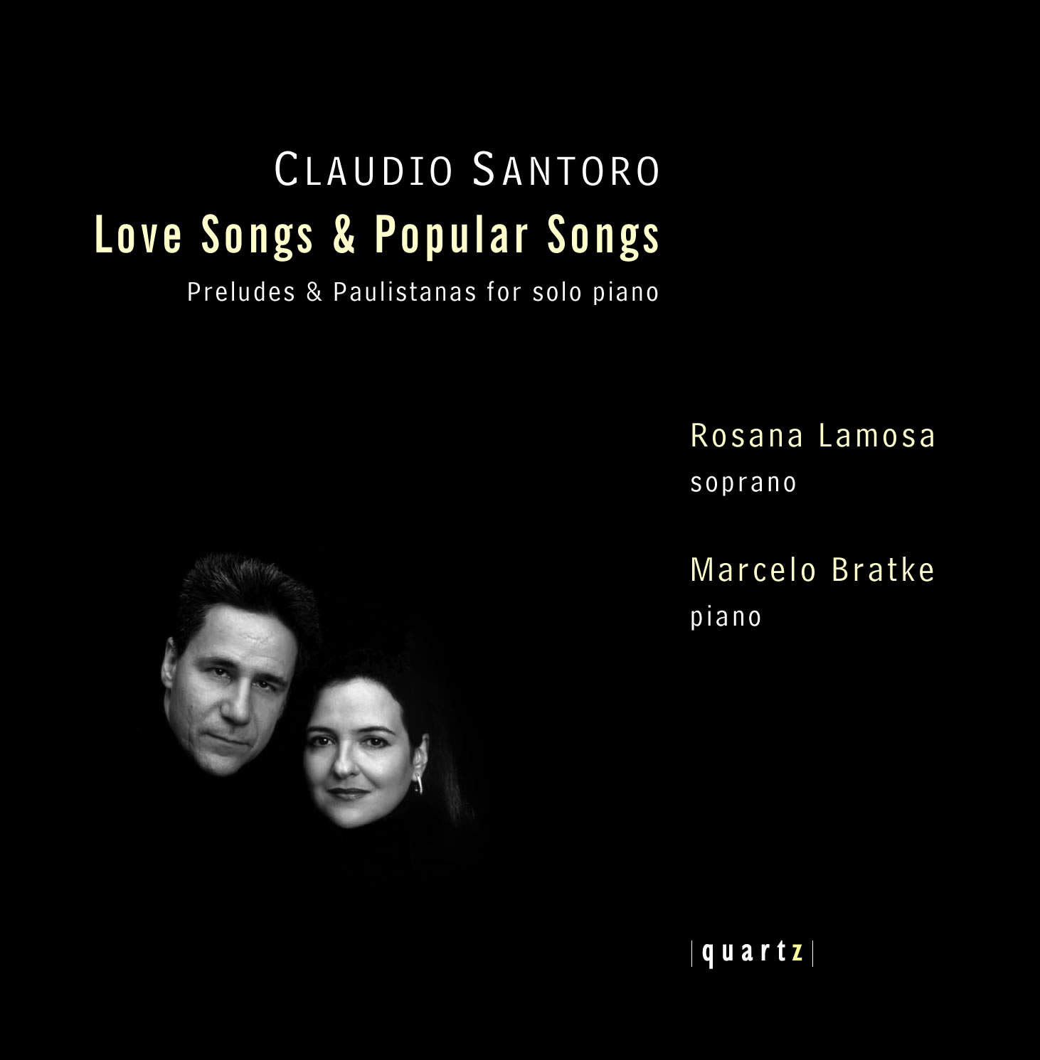 Marcelo Bratke (piano) and Rosana Lamosa (soprano)