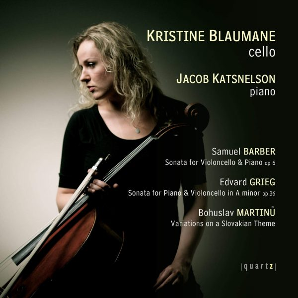 Kristine Blaumane (cello) and Jacob Katsnelson (piano)